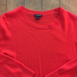 Ann Taylor 3/4 length merino wool sweater